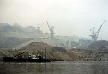 The Gorges Dam Construction Site