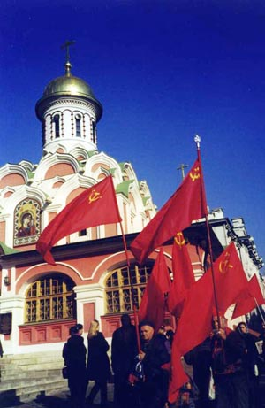 Communists in Red Square